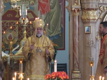 His Eminence, Archbishop Michael Visits St. John's.......
