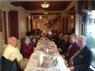 "Women's Club and ""O"" Club Meet at Luncheon........."