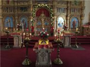 Decorating the Church for the Feast of the Nativity of Our Lord and Savior Jesus Christ......