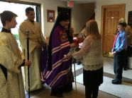 His Eminence Archbishop Michael Visits St. John's......